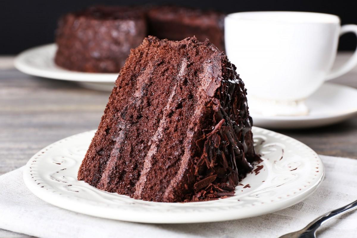 Bizcocho de chocolate negro con Thermomix