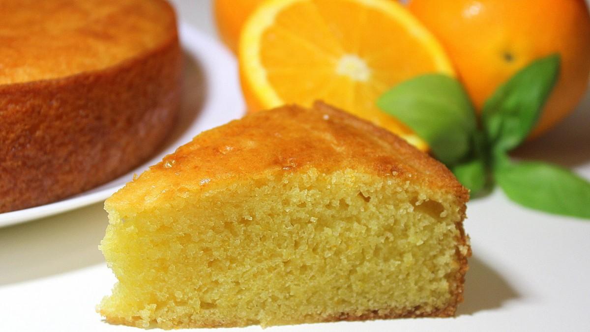 Bizcocho de naranja fácil
