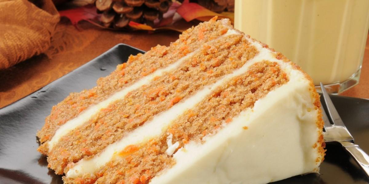 Bizcocho de zanahoria sin azúcar